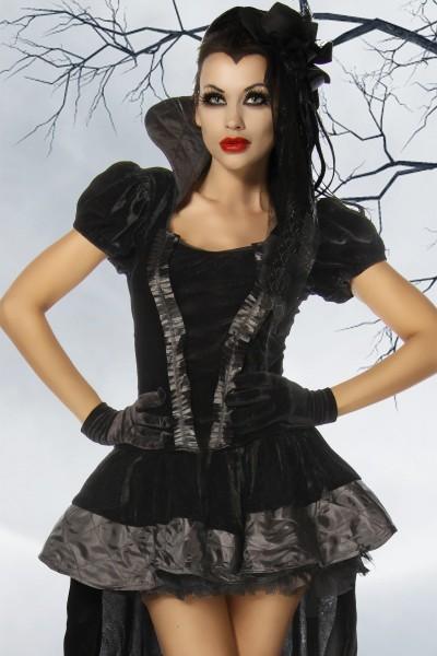 vampirkost m vampir kost m damen gothic petticoat rock. Black Bedroom Furniture Sets. Home Design Ideas