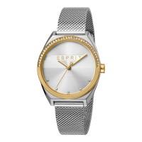 Esprit ES1L057M0075 Slice Glam Gold Silver Mesh Damenuhr